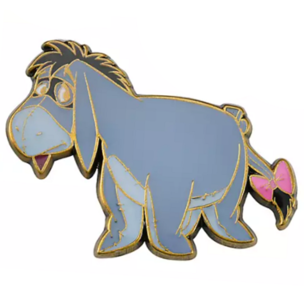 Eeyore - Paw and Order pin