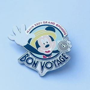Mickey Bon Voyage pin