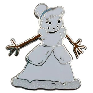 Cinderella - Happy Holidays Snowman Mystery Box pin