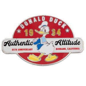 Donald Duck Authentic Attitude pin