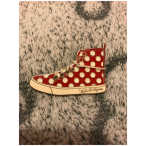 Minnie mouses shoe pin