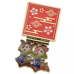 Chip and Dale - Japanese sweets craftsmen pin