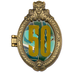 Duelist #1 - Haunted Mansion 50th Anniversary pin