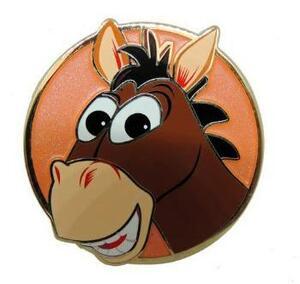 Bullseye Round Artland pin