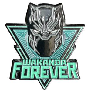 Wakanda Forever - Black Panther Mask pin