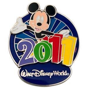 Mickey Mouse - 2011 - Walt Disney World pin