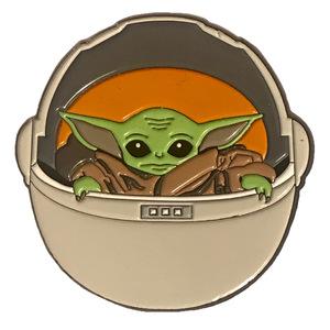 Star Wars: The Mandalorian - The Child in Pod pin