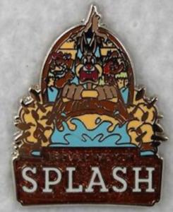 Briar Patch Splash - Disneyland Mascots pin