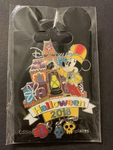 Mickey Day of the Dead Halloween 2018  pin