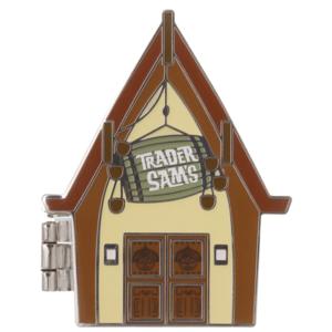 Trader Sam's Enchanted Tiki Bar 10th Anniversary Pin – Disneyland pin