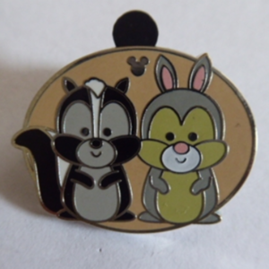 Flower and Thumper - Hidden Mickey pin