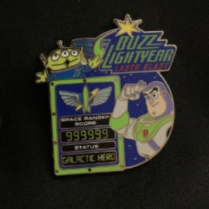 Buzz Lightyear Laser Blast pin