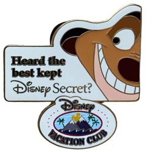Timon DVC - Disney's best kept Secret pin