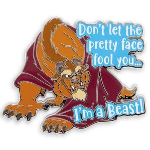 I'm a Beast pin