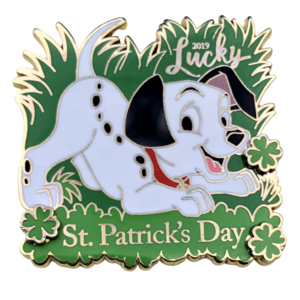 2019 St Patrick's Day Lucky pin