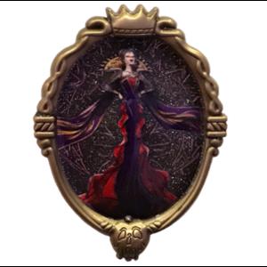 Villains Midnight Masquerade - Evil Queen Portrait pin