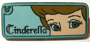 Hidden Mickey series 2 - Cinderella rearview mirror pin