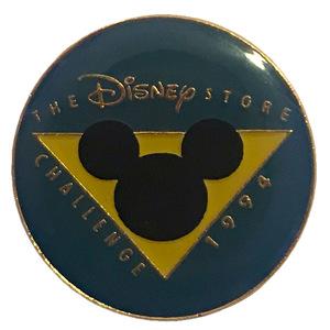 Disney Store Cast Exclusive - Pre-sale Store Challenge (1994) pin