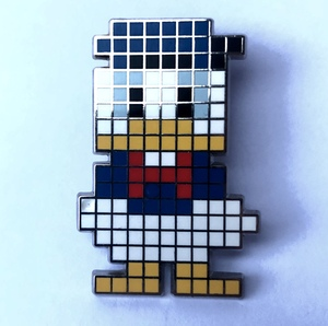 Digital Disney Donald Duck pin