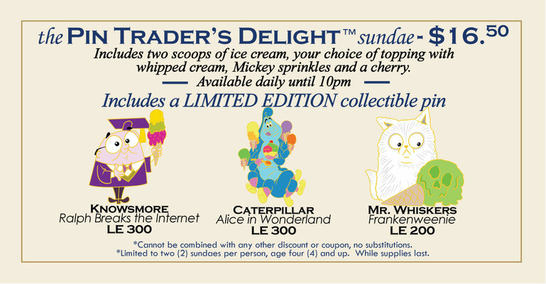 Latest Pin Trader Delight pins - February 20th 2020