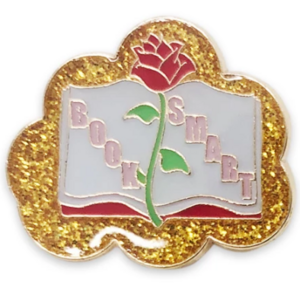 Book Smart - Belle - Disney Princess Memes Flair Pin Set pin