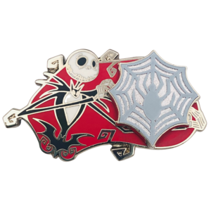 Jack Skellington Spider Web Christmas 2020 pin