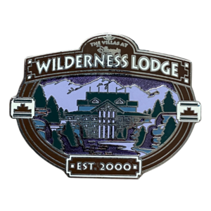 Villas at Wilderness Lodge - DVC exclusive pin