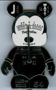 Cinema Camera - Jumbo Vinylmation Urban 6 pin