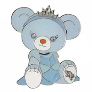 Blue Rose - UniBEARsity Princess Bear Pin Badge Set UniBEARsity 10th ANNIVERSARY pin
