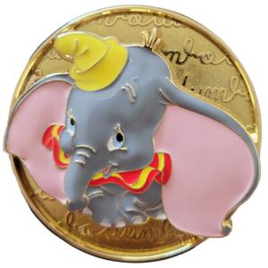 Cursive Cutie Dumbo pin