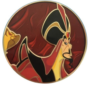 Artland - Jafar - Villain Series pin