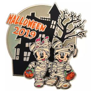 Halloween 2019 - Mickey and Minnie  pin