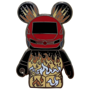 Vinylmation Mystery Pin Collection - Parks #10 -  Moteurs... Action! Stunt Show Spectacular pin