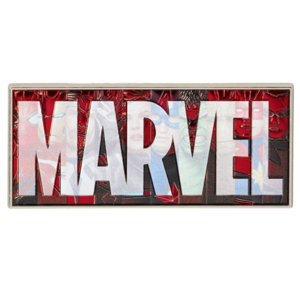 Marvel - logo pin with characters pin