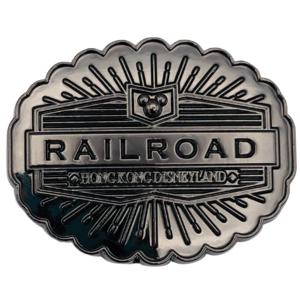 Hong Kong Disneyland Railroad - Center Street Boutique - Hong Kong Disneyland Signs pin