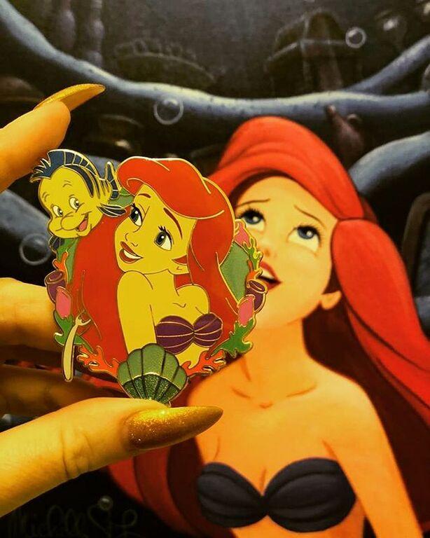 Ariel Fantasy Pin - by DisneyPinTraderUK