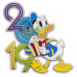 Donald Duck 2019 with popcorn pin