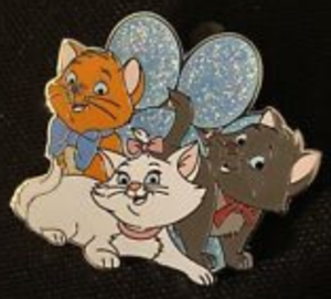 Toulouse, Marie & Berlioz - FairyTails Event Mystery pin
