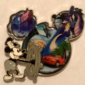 Destinations - Mickey and Icon - Hollywood Studios pin