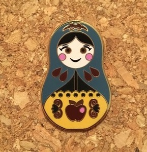 Snow White - Nesting Doll pin