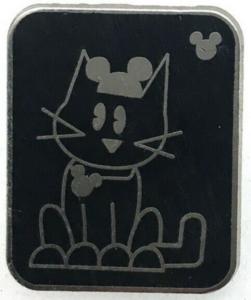 Cat - Hidden Mickey Mouse Ear Pets pin