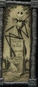 Jack Skellington Haunted Mansion Stretching Portrait pin
