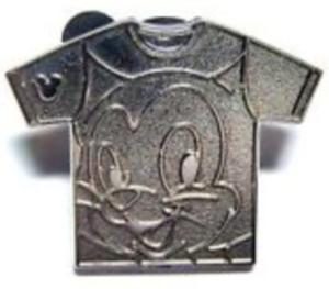 Figaro- Hidden Mickey Shirt WDW (Chaser) pin