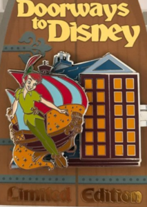 Peter Pan - Doorways to Disney pin