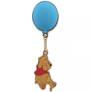 Winnie the Pooh - floating with balloon - 55th anniversary pin