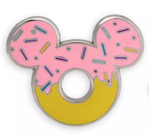 Mickey donut pin