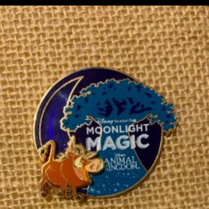 Moonlight magic Pumbaa pin