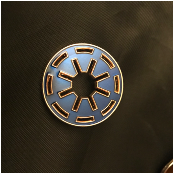 Imperial Crest  pin