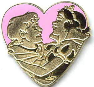 Snow White and Prince pin