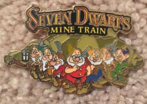 Seven Dwarfs Mine Train Cast Member/VIP pin